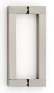 Block Back-to-Back Pull G420-6 - Satin Nickel