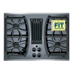 "GE Profile Ge Profile™ Series 30"" Built-In Gas Downdraft Cooktop"