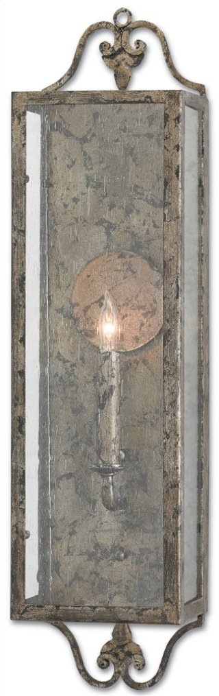 Wolverton Wall Sconce - 6w x 24h x 5d