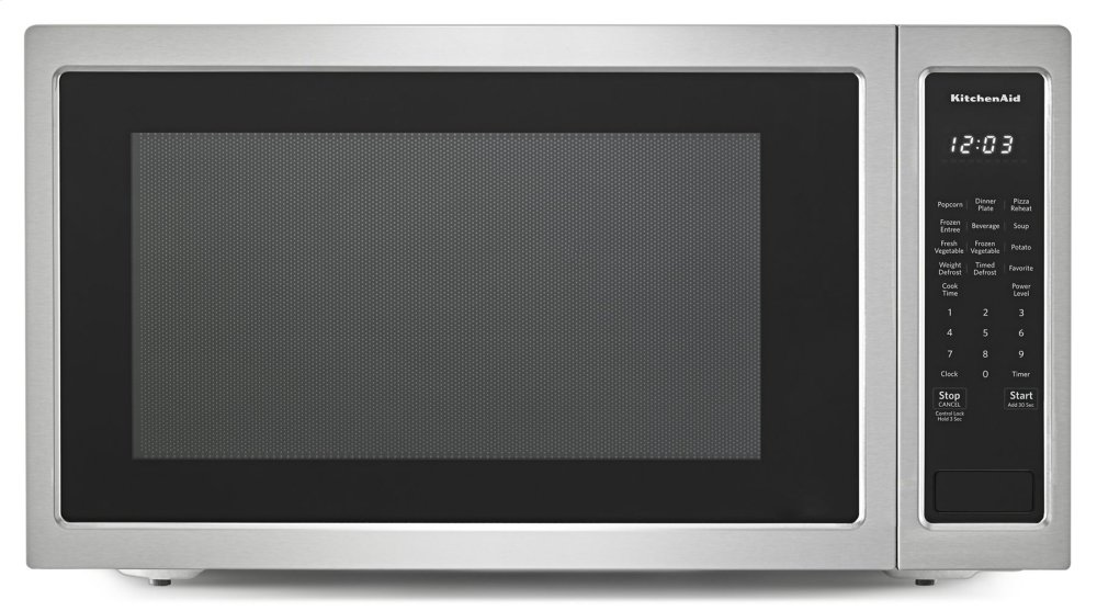 Kmcs3022gss Kitchenaid 24 Quot Countertop Microwave Oven