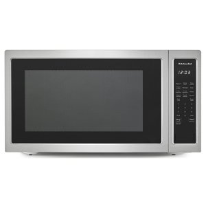 "KitchenAid24"" Countertop Microwave Oven - 1200 Watt - Stainless Steel"