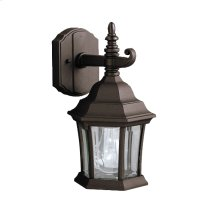 Townhouse Collection Townhouse 1 Light Outdoor Wall Light BK