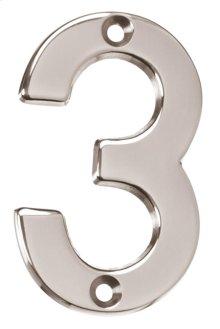 House Numbers AP3-3 - Bronze