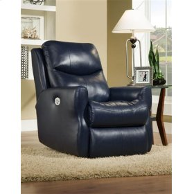 Leather Power Headrest Rocker Recliner (available in Fabric)