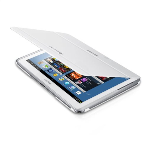 Galaxy Note 10.1 Magnetic Book Cover, White