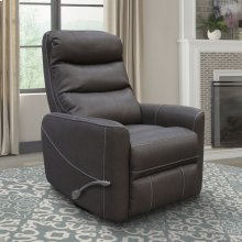 Hercules Haze Manual Swivel Glider Recliner