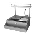"30"" Hestan Outdoor Refreshment Center - GRCHS Series Product Image"