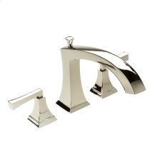 Roman Tub Faucet Leyden Series 14 Polished Nickel