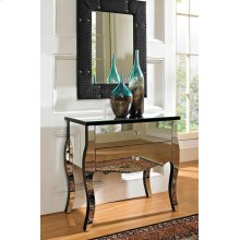 Mirrored 2 Drawer Console