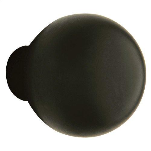 Satin Black 5041 Estate Knob