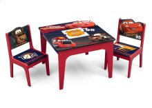 Cars Deluxe Table & Chair with Storage - Style 1