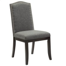 Jazz Side Chair in Charcoal Grey, 2pk