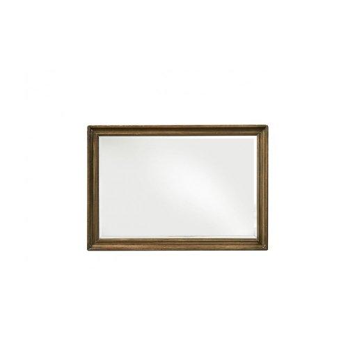 Continental Landscape Mirror - Weathered Nutmeg