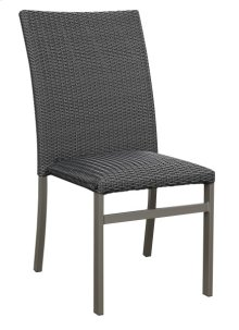 Dining Chair- Wicker -black #em003 (4 Ea Per/ctn)