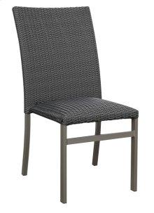 Dining Chair- Wicker -black #em003 (4 Ea Per/ctn)