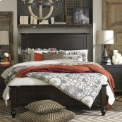Full/Dark Molasses Wakefield Panel Bed