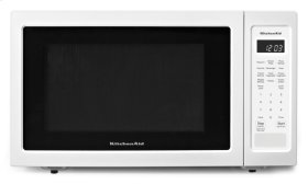 "21 3/4"" Countertop Microwave Oven - 1200 Watt - White"