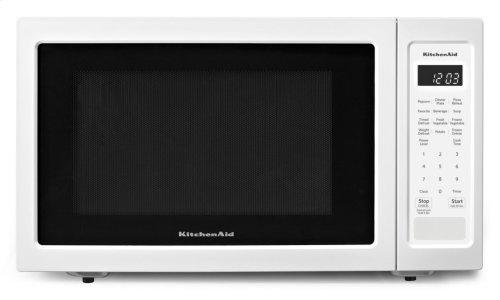 """21 3/4"""" Countertop Microwave Oven - 1200 Watt - White"""