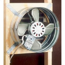 Attic Ventilator, Gable Mount, 1020 or 760 CFM depending on installation