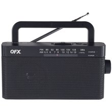 Am/fm Rechargeable Tabletop Radio
