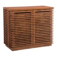 Linea Bar Cabinet Walnut Product Image