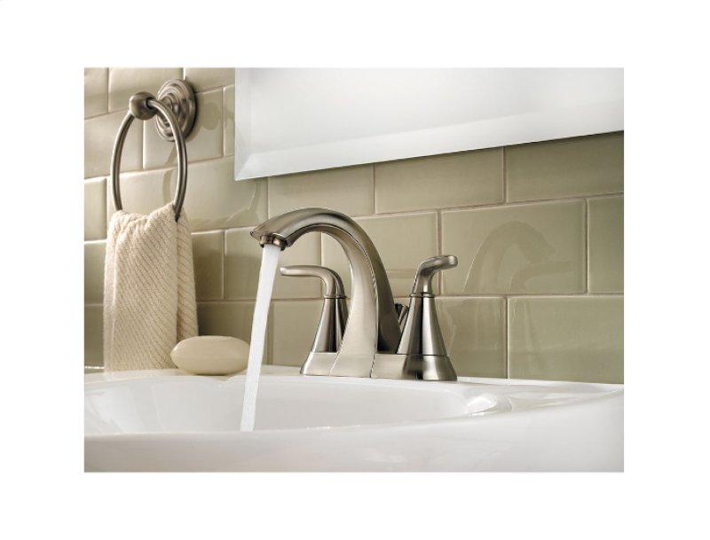 Brushed Nickel Pasadena Centerset Bath Faucet