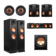 RP-280 Vinyl 5.1.4 IC Dolby Atmos® System - Ebony Vinyl
