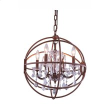 1130 Geneva Collection Pendent Lamp Rustic Intent Finish