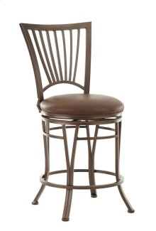 "Baltimore Swivel Bar Chair, 19"" x17""x48"""