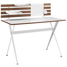 Knack Wood Office Desk in Cherry Product Image