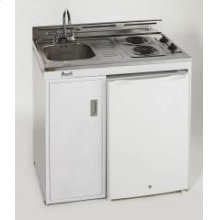 """Model CK36-1 - 36"""" Complete Compact Kitchen with Refrigerator"""