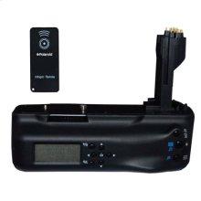 Polaroid Wireless LCD Display Performance Battery Grip For Canon Eos 5D Mark II Digital Slr Camera (PL-GR185DM2)
