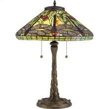 Jungle Dragonfly Table Lamp in Architectural Bronze