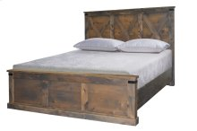 Farmhouse King Footboard w/ Slats