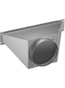 """Connection piece for round duct 6"""" Product Image"""