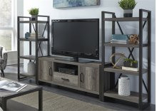 Entertainment Center w Piers