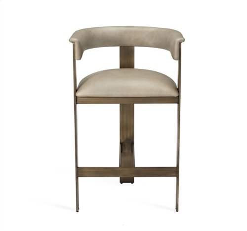 Darcy Counter Stool - Taupe
