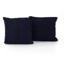 "20x20"" Size Midnight Kilim Pillow, Set of 2"