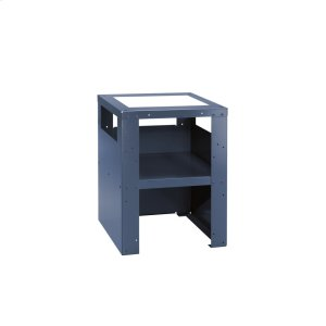 Plinth For ergonomic loading and unloading of the washing machine and dryer. -