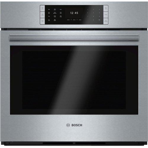 "Benchmark Series, 30"", Single Wall Oven, SS, EU Conv., TFT Touch Control"