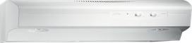 "Out Of Box  Broan 30"", White-on-White, Under Cabinet Hood, 220 CFM"