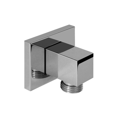 Contemporary Square Wall Supply Elbow