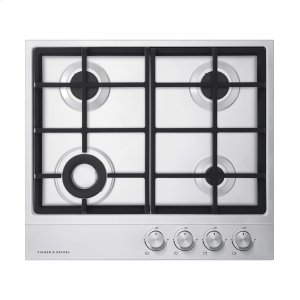 "Fisher & Paykel24"" 4 Burner Gas Cooktop"