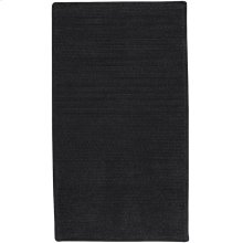 Shadow Blk Chenille Creations Cross Sewn Rectangle