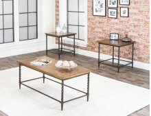 Pisa-rustic Oak 3pl Occ Tables