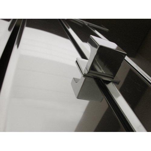 Quadro & Vega Bathrobe Hanger - Vega Brushed