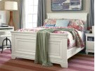 Panel Bed (Full) - Summer White Product Image