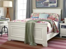 Full Panel Bed - Summer White