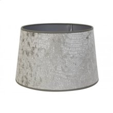 Shade round 20-16-13 cm CHELSEA velours silver