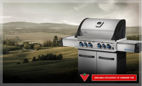 Legend 485 with Infrared Side and Rear Burners